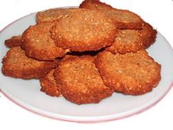 Печенье из свежего соевого сыра
