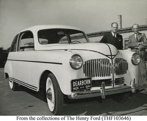 Sojaplastist auto