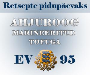 Ahjuroog marineeritud tofuga
