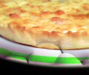 Quiche kana ja ananassiga