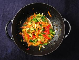 Tofu brokkoli wokiroog